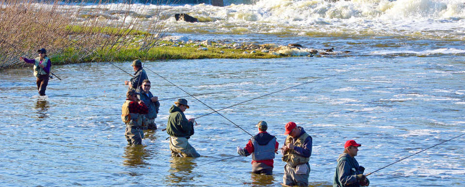 Fishing is Second-to-None in Walkerton